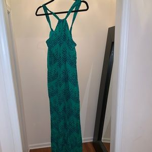 Beautiful chiffon DVF ostrich print dress